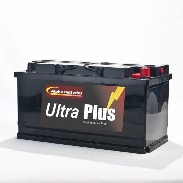 90 AH Ultra Plus Motorhome Starter Engine Battery (019)-0