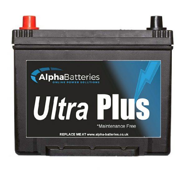 334/250 Ultra Plus Car Battery-0