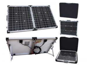100W Portable Folding Xplorer German Cell Solar Panel-0