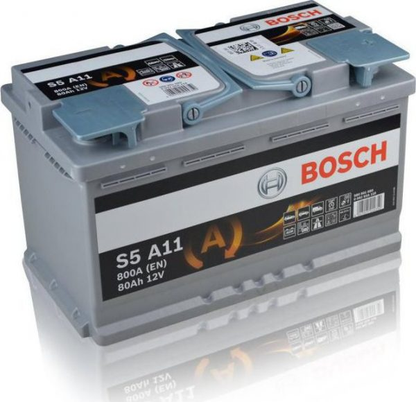 110 Bosch AGM Stop Start Car Battery (S5A11)-0