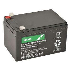 12AH Lucas AGM Lawnmower Battery-0
