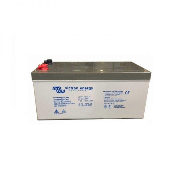 12v Victron Energy 265ah Gel Battery - Bat412126101-0