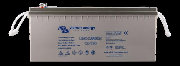 12v Victron Energy 160ah Lead Carbon Agm Battery - Bat612116081-0