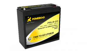 12V Poweroad 20ah Lithium Golf trolley Battery-0