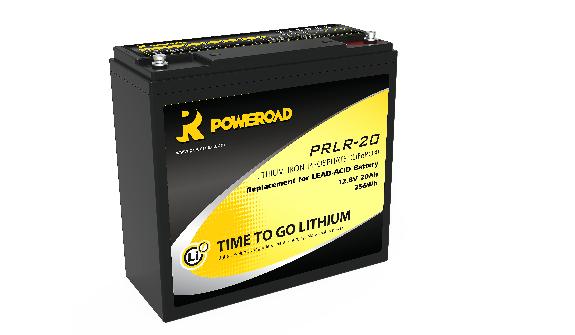 12V Poweroad 20ah Lithium Golf trolley Battery-0