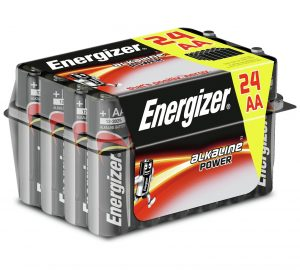 Energizer AA Alkaline Batteries Family Pack of 24-0