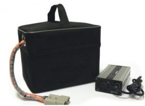 24v UltraMax 36Ah Lithium Golf Buggy Battery (18-27 hole) inc Charger-0