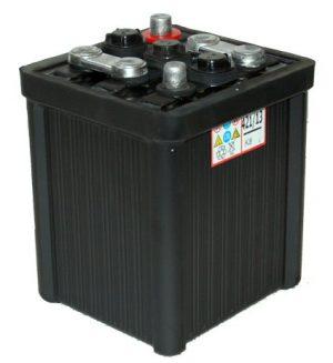 6V 421 Lucas Classic Hard Rubber Car Battery-0