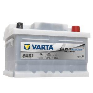 062 Varta (Mercedes Sl Starter) Silver Dynamic Car Battery AUX1 (535106052)-0