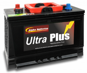 6V 541 Ultra Plus Classic Car/Tractor Battery (EU165-6)-0