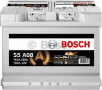 096 Bosch AGM Stop Start Car Battery (S5A08)-0