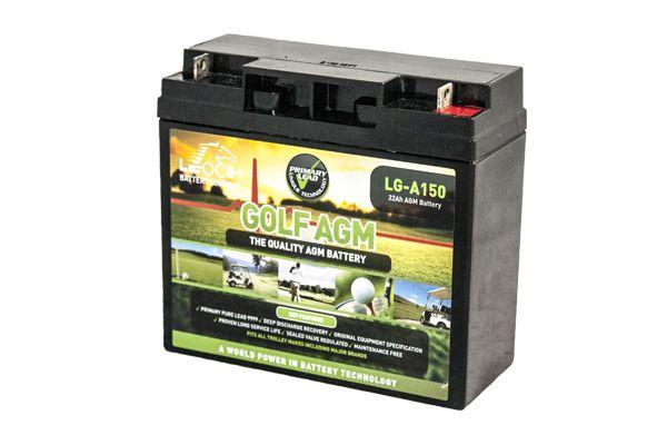 Leoch AGM LG-A150 9-18 Hole Golf Trolley Battery-0