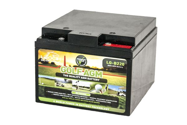 Leoch AGM LG-B220 18-27 Hole Golf Trolley Battery-0