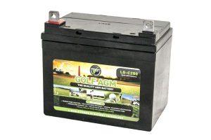 Leoch AGM LG-C280 27-36 Hole Golf Trolley Battery-0