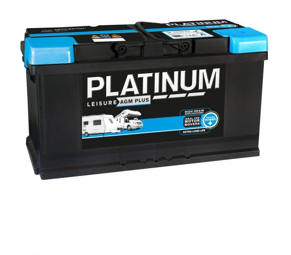 12v 100AH Platinum AGM Leisure Battery (AGMLB6110L) NCC Class A-0