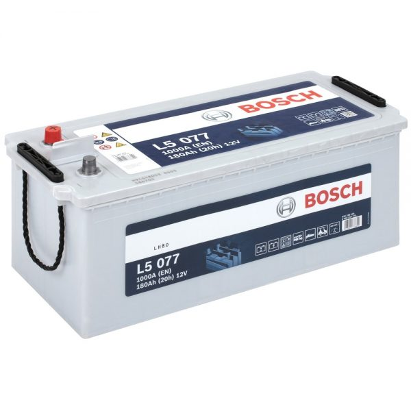 12V 140AH Bosch Silver Powerframe Leisure Battery (L5075)-0