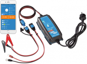 12v Victron Energy 7A 7 Stage Smart Battery Charger with Bluetooth Control -0