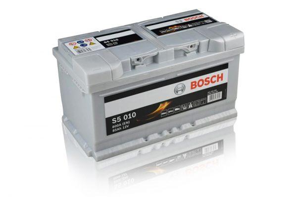 Volkswagen T4, T5 & T25 85AH Bosch Silver Starter & Auxiliary Battery-0