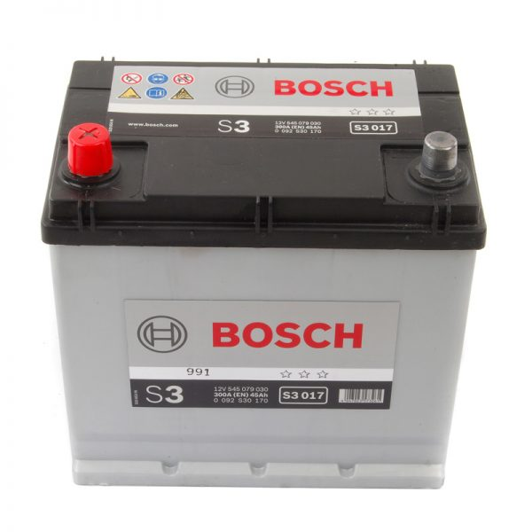 049/057 Bosch Car Battery (S3017)-0