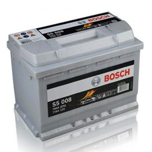 096 Bosch Silver Car Battery (S5008)-0