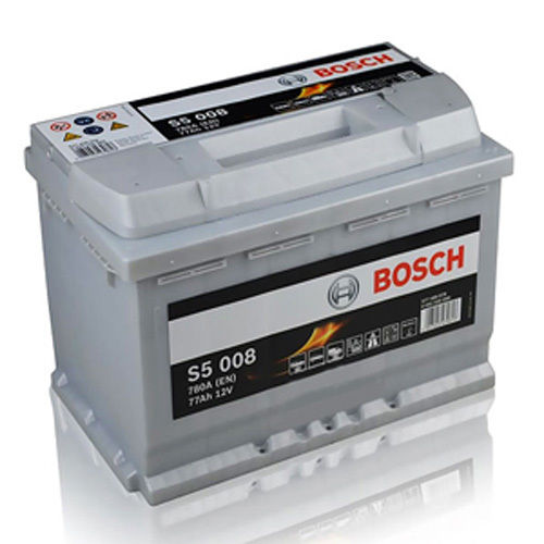 096 Bosch Silver Car Battery (S5008)-0