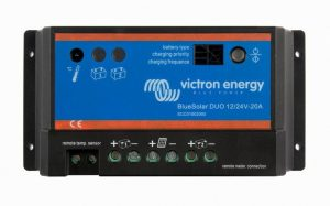 Victron Energy BlueSolar PWM DUO Dual Battery Solar Controller 12/24V-20A - SCC010020000-0