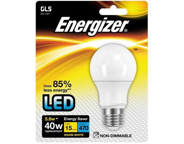 Energizer 5.9W LED Golf 3000k E14 Bulb-0