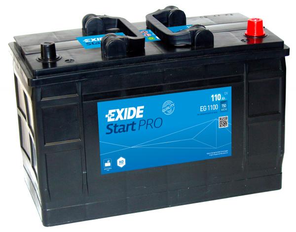 663 Exide Start Pro Heavy Duty Commercial Battery (EG1100) (EF1202)-0