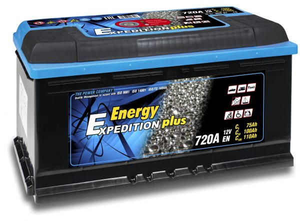 12V 110AH Expedition Plus Semi Traction Leisure Battery-0
