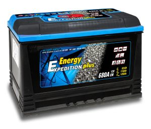 12v 120AH Expedition Plus Semi Traction Leisure Battery-0