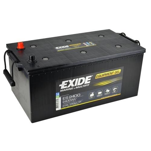 12v Exide 210AH ES2400 G210 GEL Leisure Battery-0