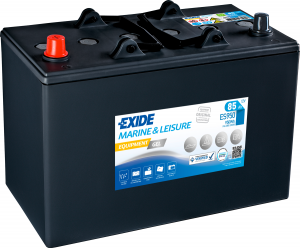 12V Exide 85AH ES950 Marine and Multifit GEL Leisure Battery (G85) (GF12072Y)-0