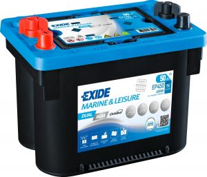 12v Exide EP450 50AH Dual AGM Battery (Maxxima MAX900DC)-0