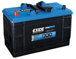 12V 115AH Exide Leisure Battery (Porta Power 115) (ER550)-0