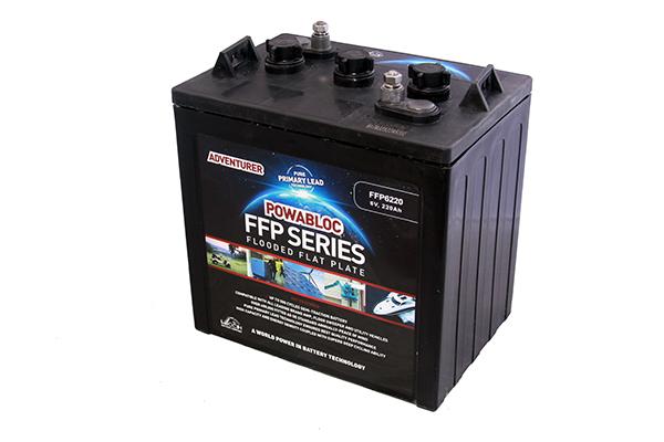 6V FFP-6260 (T145) Powabloc 280ah Semi Traction Battery-0