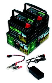 12V Fit One Charge One Electric Fence Battery Package-0