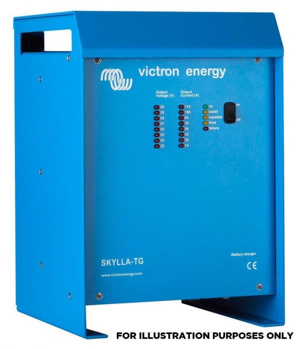 Victron Energy Skylla-TG IP21 Battery Charger 24V/80A/230V (1+1) - 1 Output - SDTG2400801-0