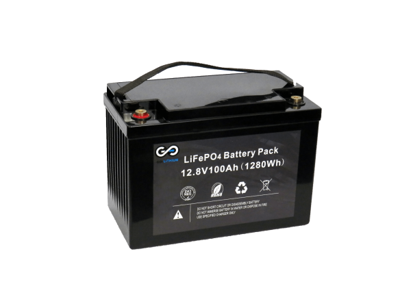12v Go: Lithium 100AH Lithium Battery-0