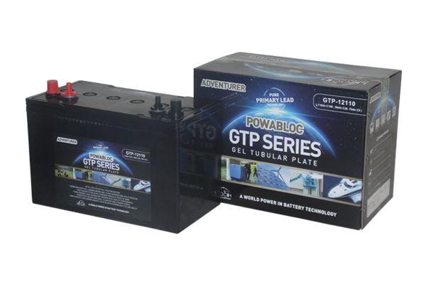 12V 110AH Leoch Powabloc Tubular Gel Leisure Battery (GTP12110) NCC CLASS A-0