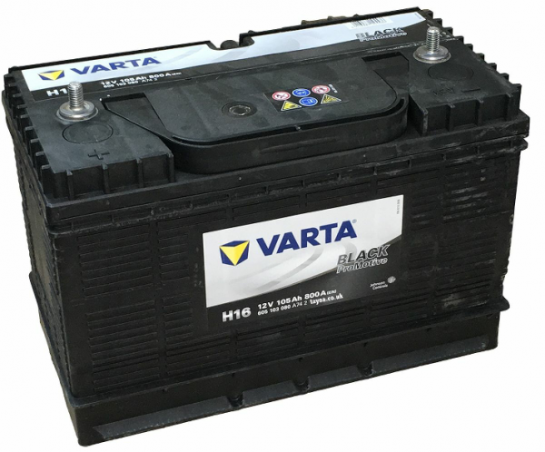 VARTA H16 Promotive Commercial Battery 605 103 080 (641)-0