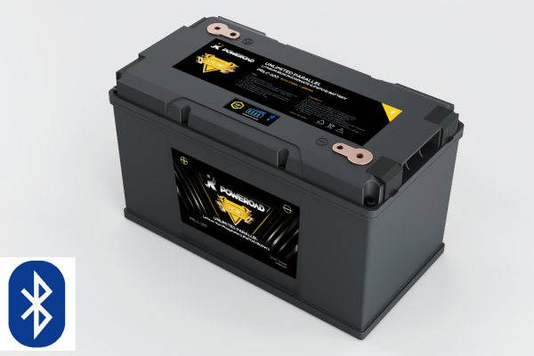 12v 100AH Poweroad Infinity Lithium LiFePO4 Battery with Bluetooth Monitoring-0