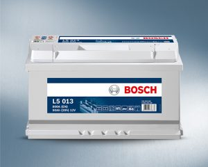 12V 90AH Bosch Silver Powerframe Leisure Battery (L5013)-0