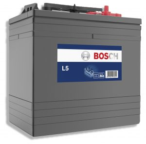 6V BOSCH L50G3 232AH SEMI TRACTION BATTERY (T125)-0