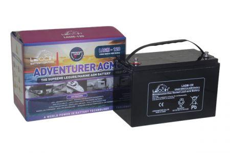 12V 120AH Leoch Adventurer AGM Leisure Battery (LAGM120)-0