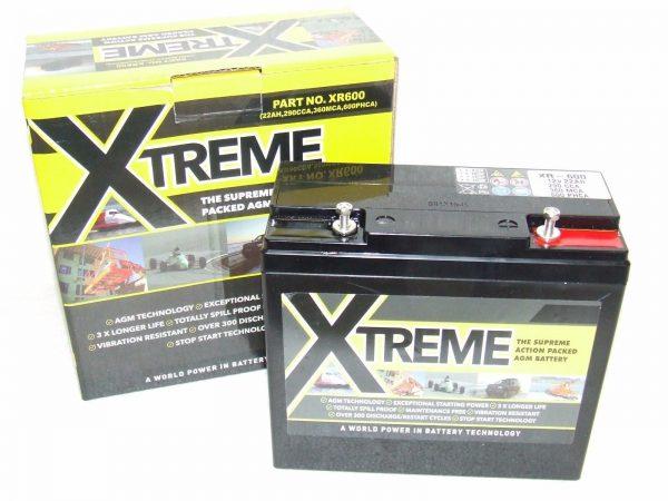 Xtreme 22ah 51913 AGM Jetski Battery (XR600,PC630)-0