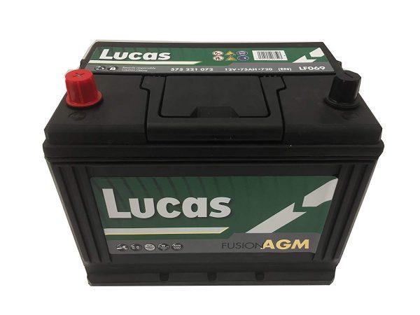 069 Lucas Fusion AGM Stop Start Car Battery-0