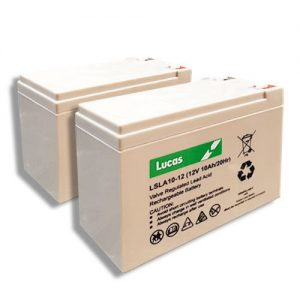 Pair of 12V 10AH Lucas Mobility Scooter Batteries (lslc12-10)-0