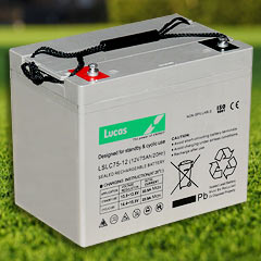 85 AH Lucas Golf Buggy Battery-0