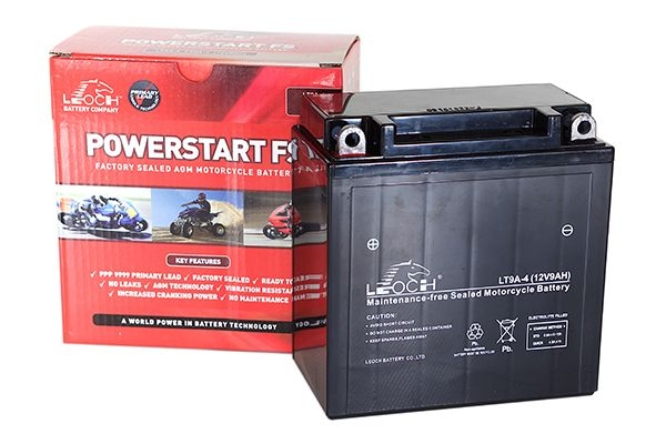 YT12B-4 Leoch Powerstart AGM Motorcycle Battery (LT12B-4)-0