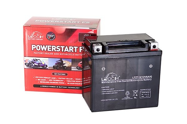 YTX20L-BS Leoch Powerstart AGM Motorcycle Battery (LT20-3)-0
